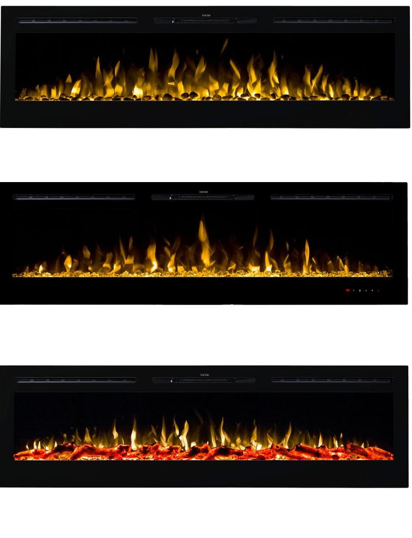 Kominek Majestic płomień
